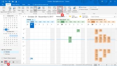 #45 Delad kalender – dubbel kalender